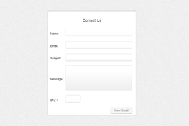 Customisable Contact Form